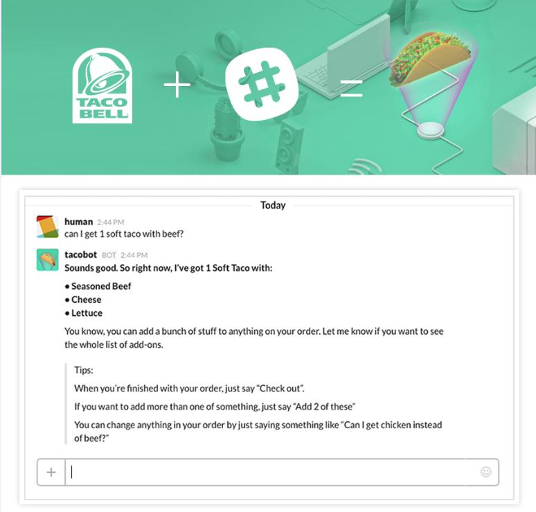tacobot chatbot